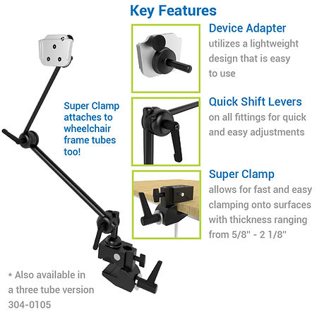 Lightweight Clamp-On Mount