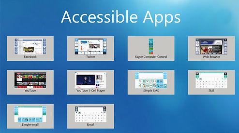Accessible Apps Dashboard