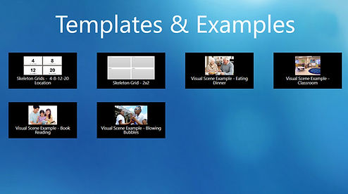 Templates and Examples Dashboard