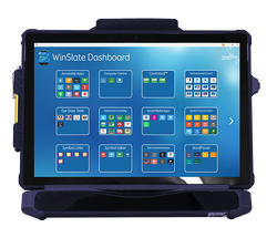 WinSlate 12D™ front view with WinSlate Dashboard