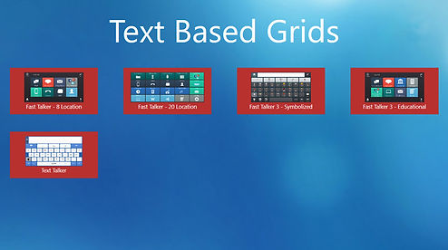 Text Based Grid