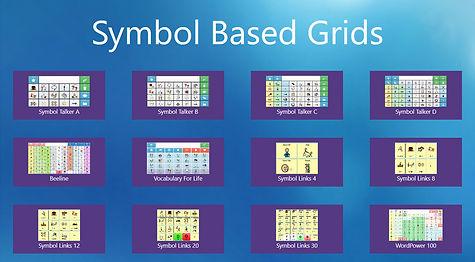 Symbol Based Grids Dashboard