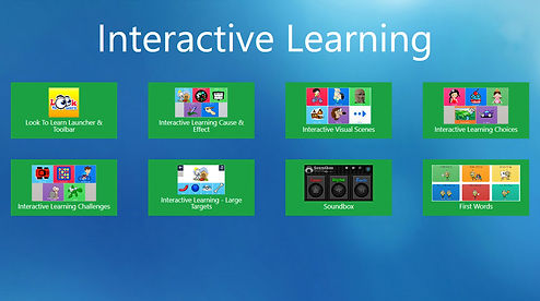 Interactive Learning Dashboard