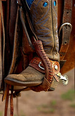 Cowboy Boots and Stirrups