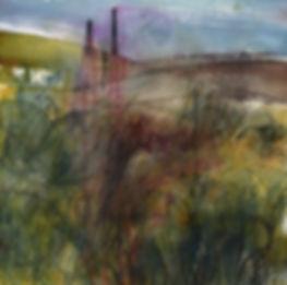 17.03.19 Big landscape Watercolour chimn