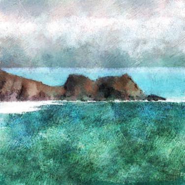 Logan Rock, Treen