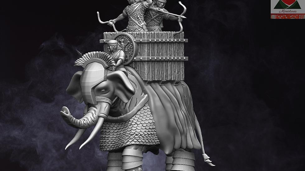 28mm Roman Auxiliary War Elephant