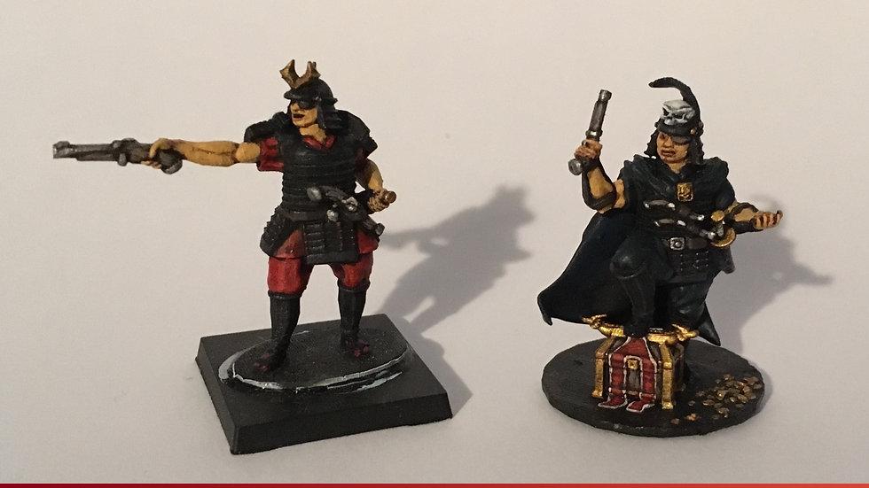 28mm Samurai Wokou Captains