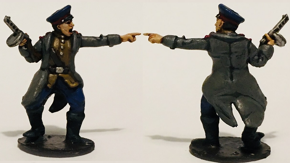 28MM 1/56 SOVIET COMMISSAR WW2