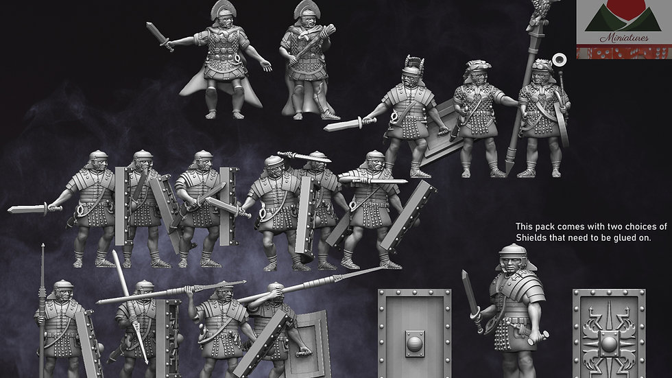 28mm EI Roman Legionaries