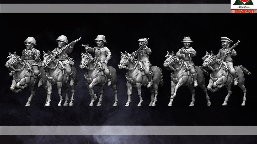 28mm Male Partisan Cavalry WW2 2 - 2