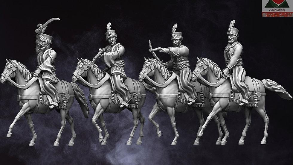 28mm Napoleonic Mamluk Cavalry