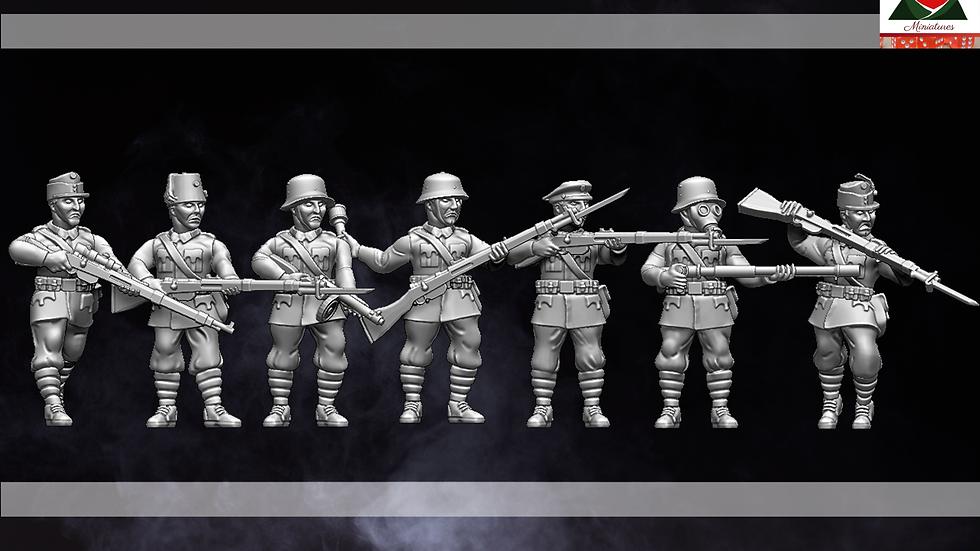 28mm WW1 Austria-Hungarian Infantry