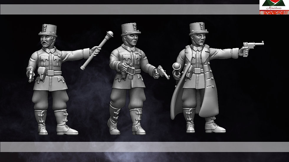 WW1 28mm Austro Hungarian Officers