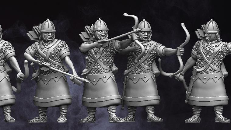 28mm Roman Auxiliary Archers