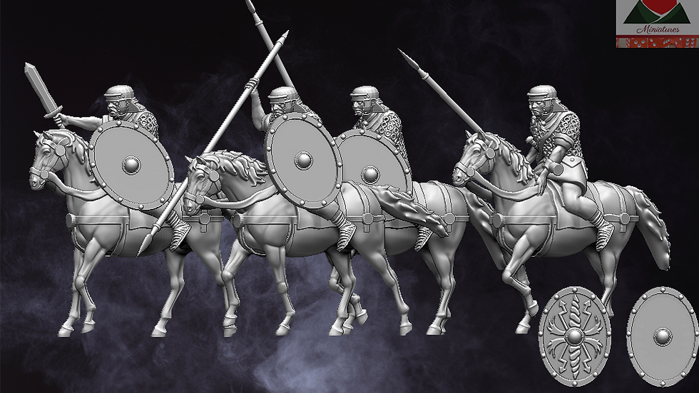 28mm Auxiliary Cavalry