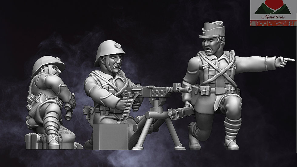 28mm Romanian Support Weapons WW2