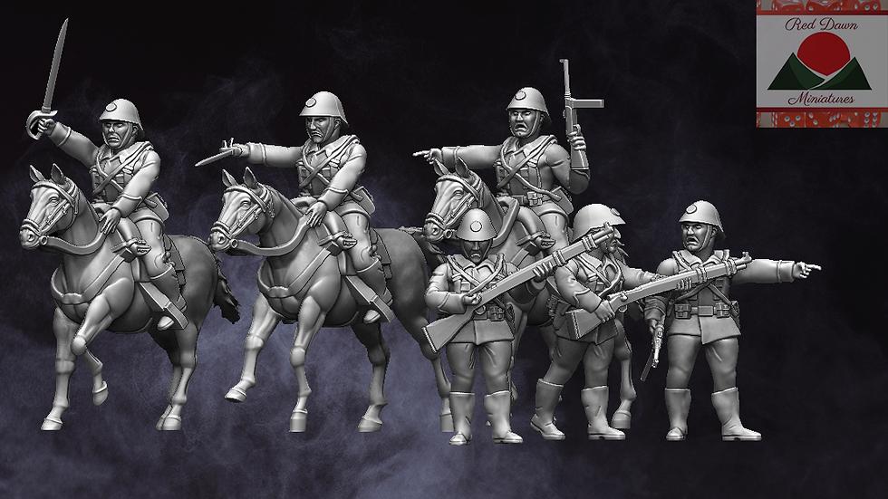 WW2 Romanian Cavalry
