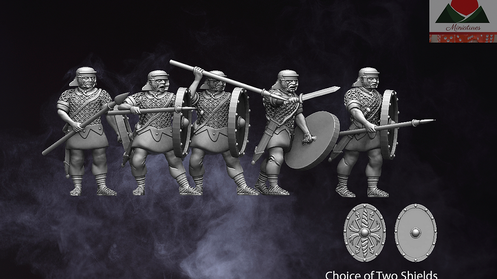 28mm Roman Auxiliary Infantry