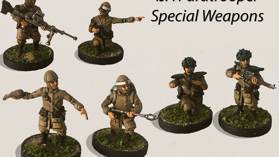 28mm IJA Paratrooper Special Weapons Teams