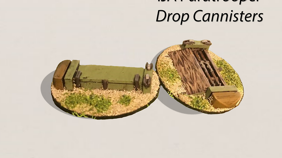 28MM IJA Paratropers Drop Canisters