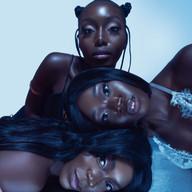 black women wig natural hair braided bun photoshoot