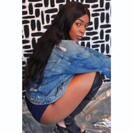 black hair wig black women photoshoot