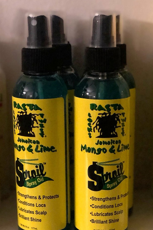 Jamaican Mango & Lime Spray Oil