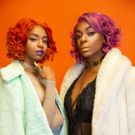 colored curly wigs photoshoot black women