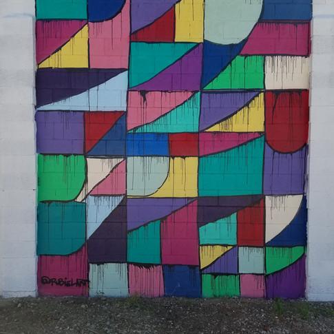 Modern Prairie Craftsman Mural