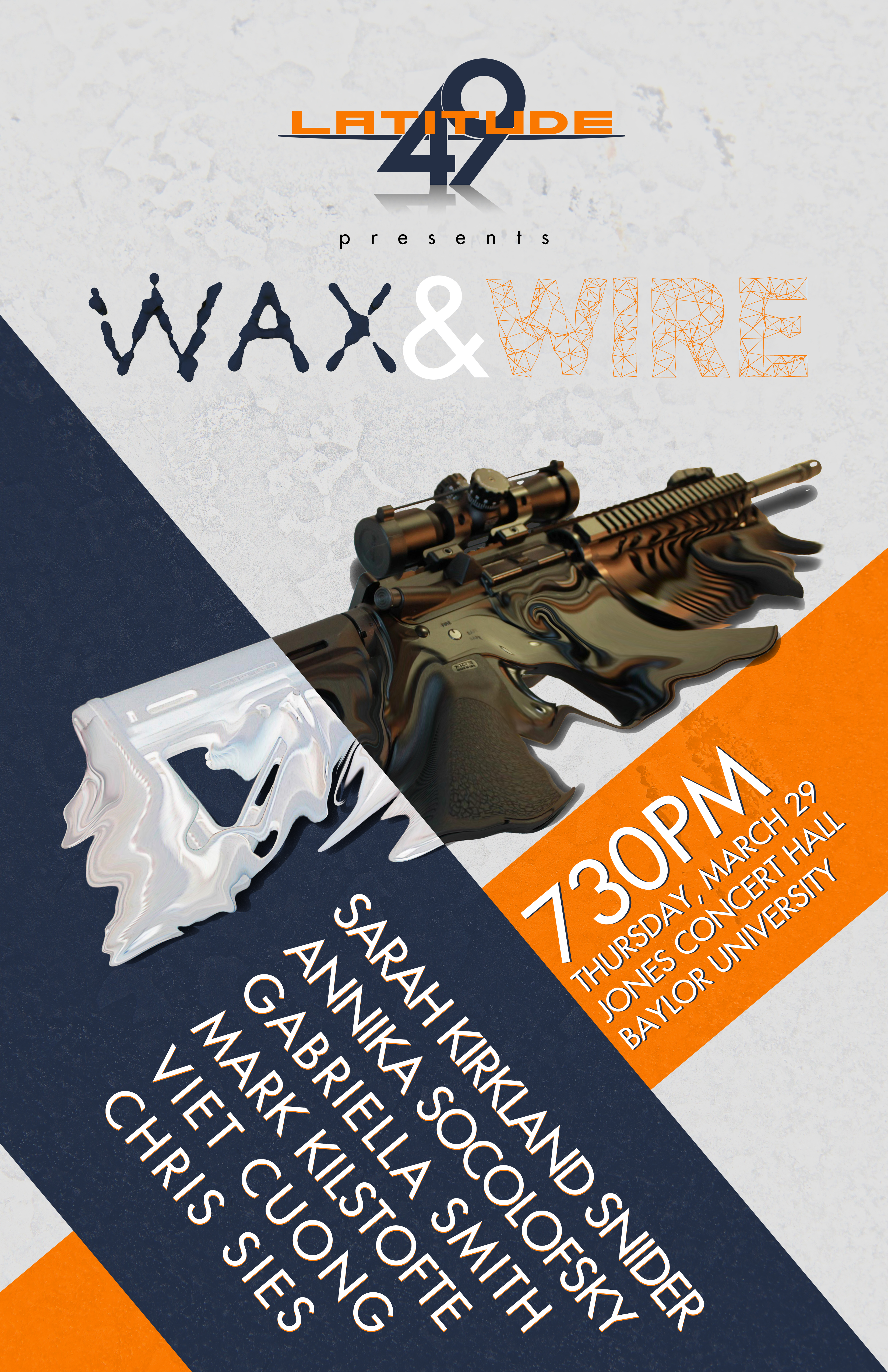 Wax and Wire Poster