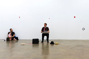 Sarah Pierce, Lost Illusions / Illusions perdues, Balzac, l'art contemporain, performance