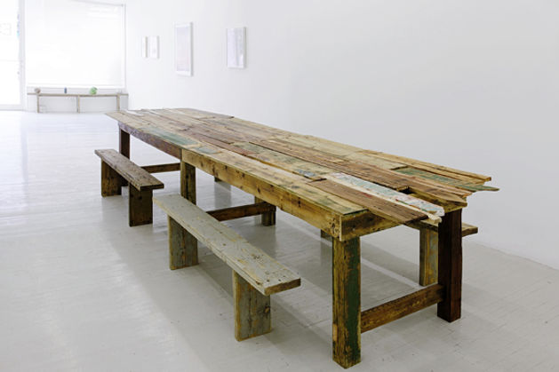 Maggie Groat, Fences Will Turn Into Tables, 2013, A Problem So Big It Needs Other People