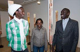 Temps - Dialogue sur l'art contemporain du Sénégal, commissaire Pierre Beaudoin