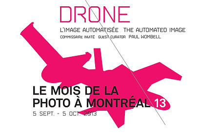 Drone, The Automated Image, curator Paul Wombell in conversation, photography