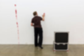 Sarah Pierce, Lost Illusions / Illusions perdues, performance, Balzac, contemporary art at SBC gallery