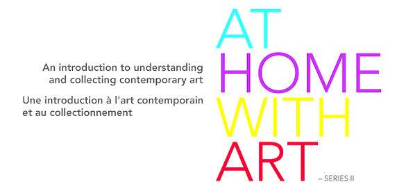 At Home With Art volet II, cours par Pip Day, visites guidées, l'art contemporain