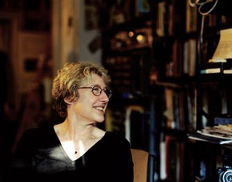 artist and writer Martha Rosler lecture, Judging Books by Their Covers