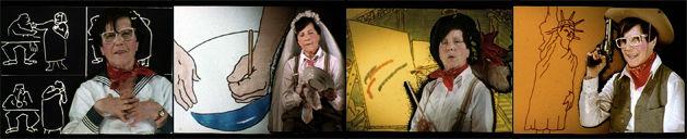 Tentations techniques: Les films de Maria Lassnig, commissaire Peter White