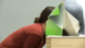 Sarah Pierce, Lost Illusions / Illusions perdues, performance, Balzac, contemporary art at SBC gallery