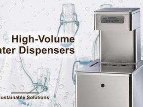 High-Volume Water Dispensers Offer A Sustainable Solution!