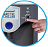 Contactless dispensing water cooler for touch free water