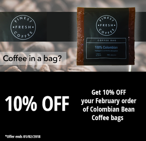 10% Off BaristaChoice coffee bags
