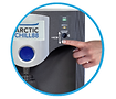 Infra-red sensors for hands-free water cooler dispenser for contact-less dispenser to rent or buy