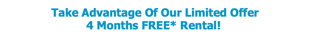 4 Months FREE rental of our Contactless Water Coolers & Water Dispensers