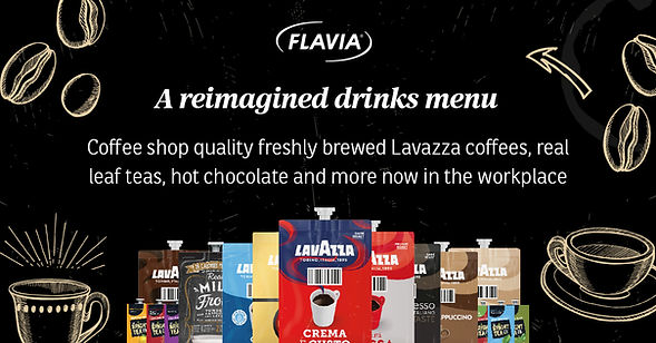 Flavia Fresh Packs Reimagined Drinks Menu
