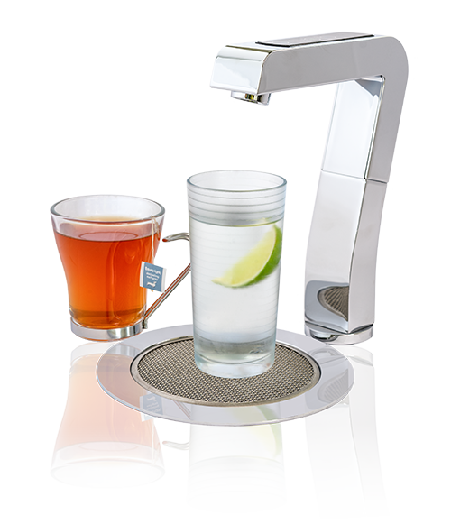Ezytap for instant hot or cold water including drip tray