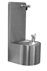 FONT30 wall mounted drinking water fountain with contactless touch free dispesning