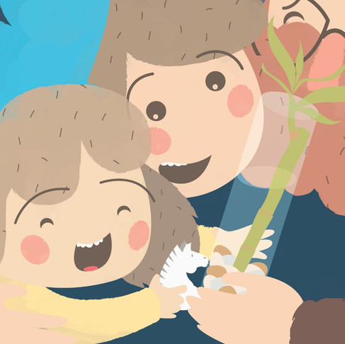 LA GRAN COSA; un libro para niños, padres y maestros sobre el Covid-19