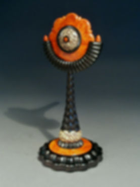 Spin Top on Matching Stand